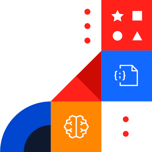 Colorful building blocks with Redis Modules icons