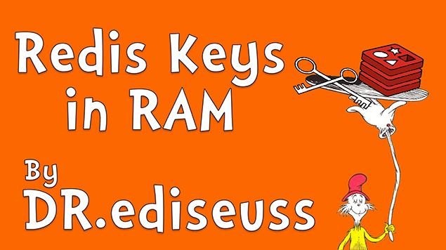 Redis Keys in RAM