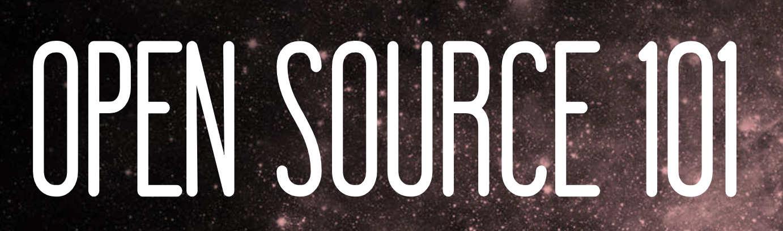Open Source 101 - Raleigh