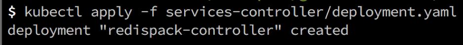 Redis Enterprise Kubernetes Controller