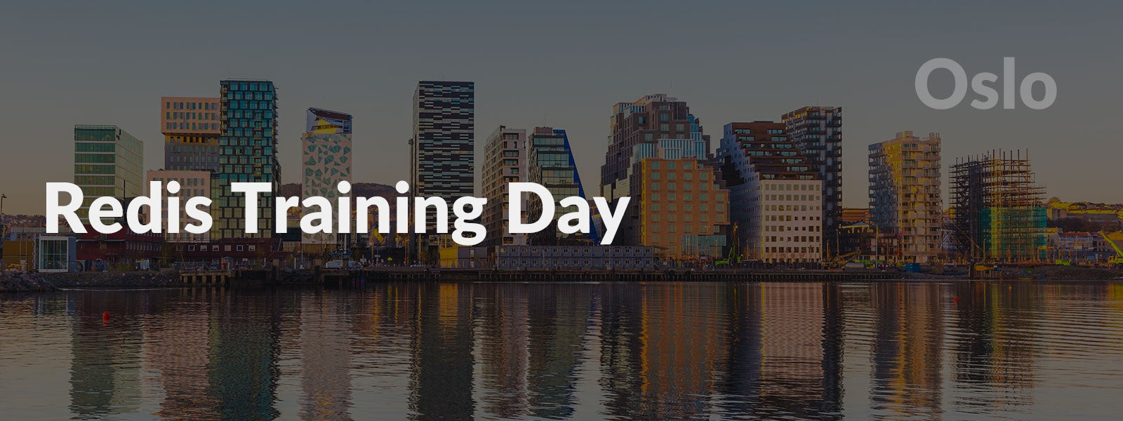 Redis Training Day Oslo