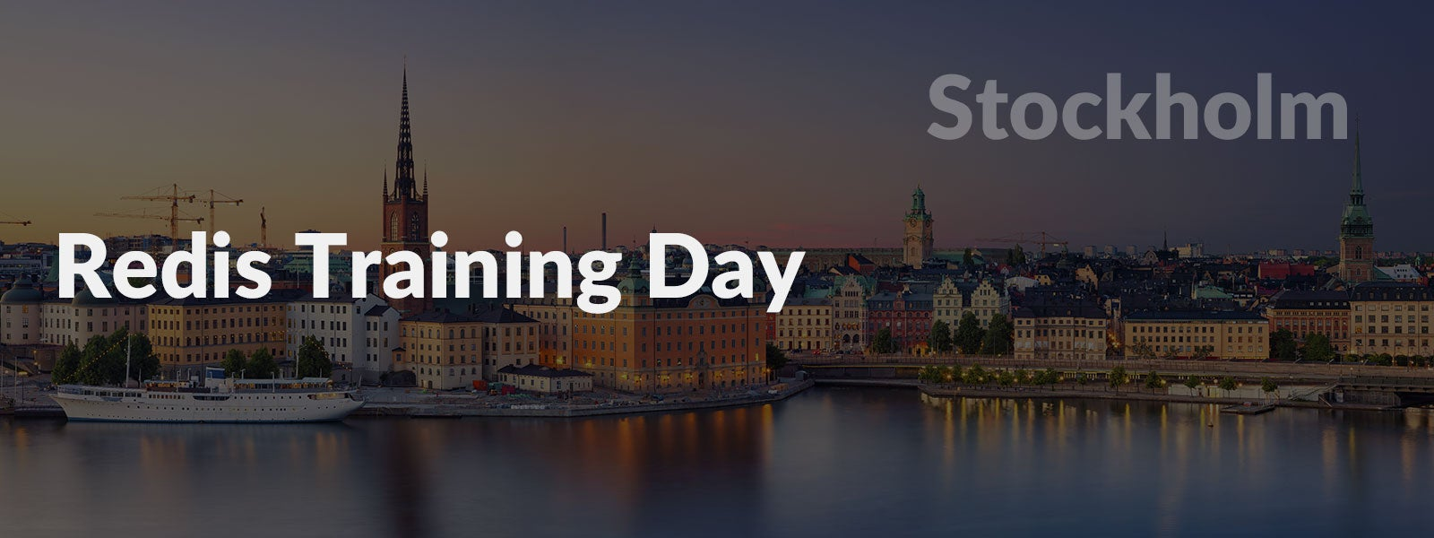Redis Training Day Stockholm