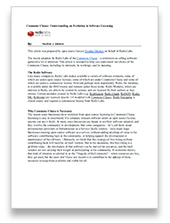 License PDF