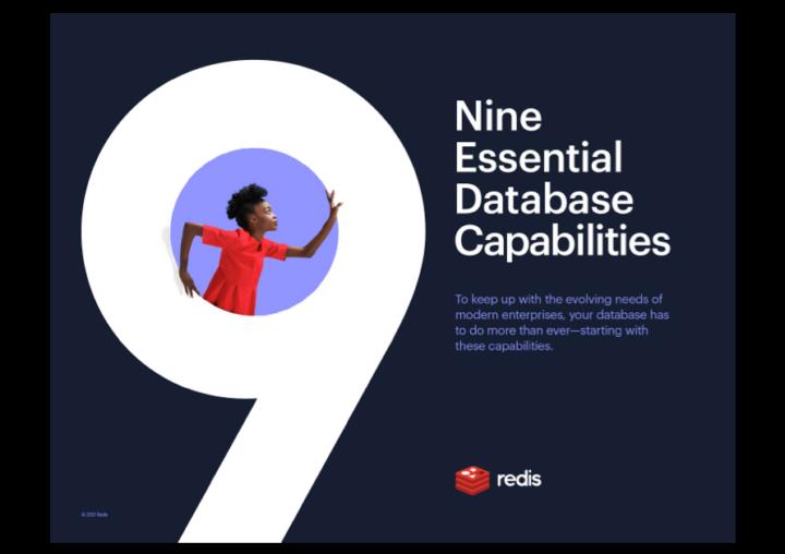 Nine Essential Database Capabilities