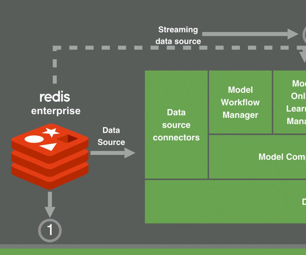 Machine Learning with Datatron and Redis
