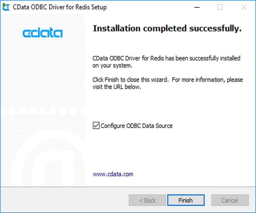 Running Redis on Windows with CDATA ODBC drive