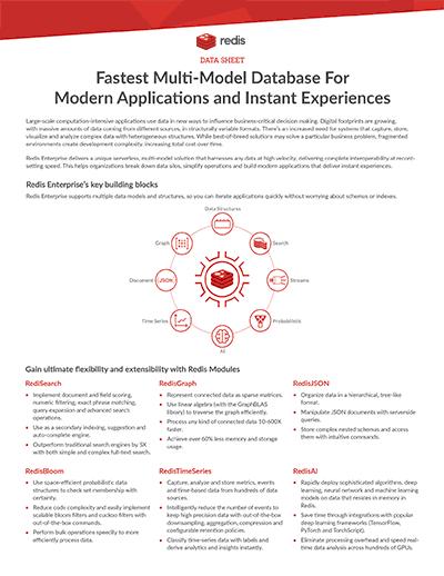 Multi-Model Datasheet