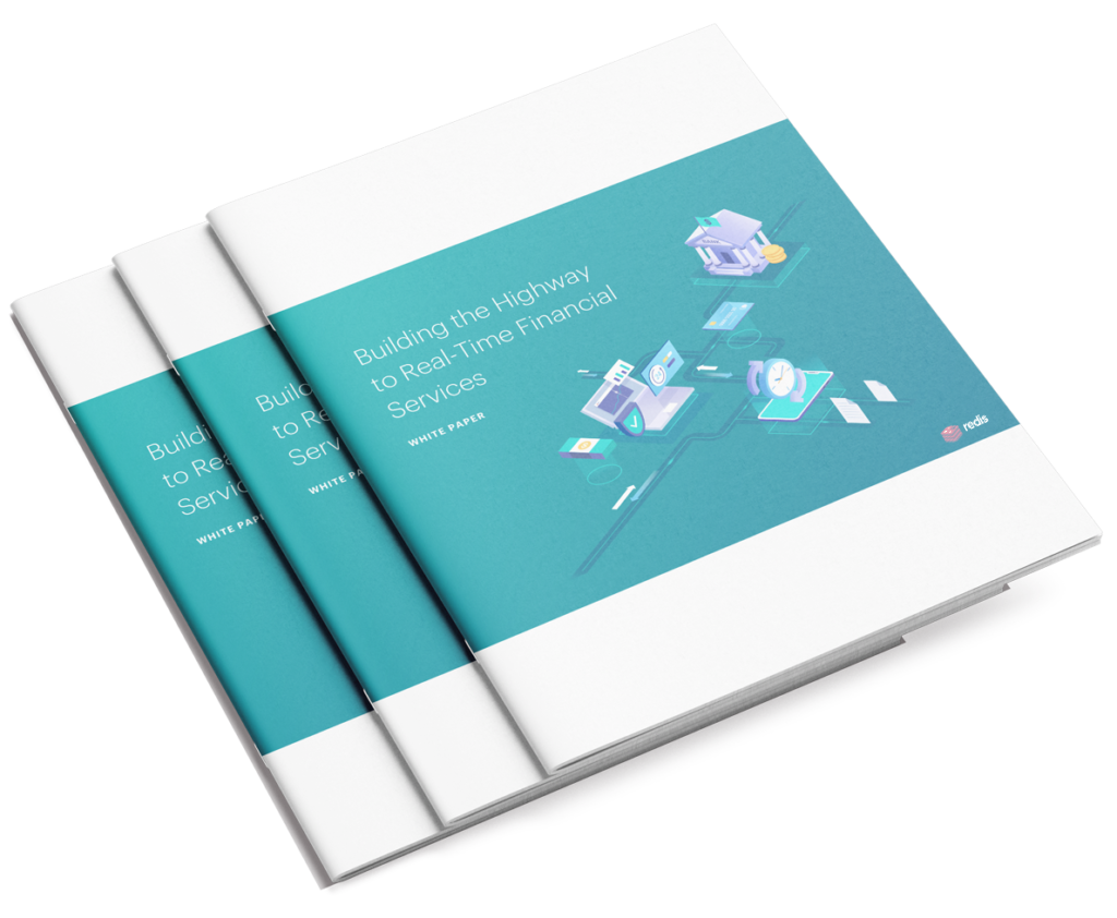 Building the Highway to Real-Time Financial Services white paper cover