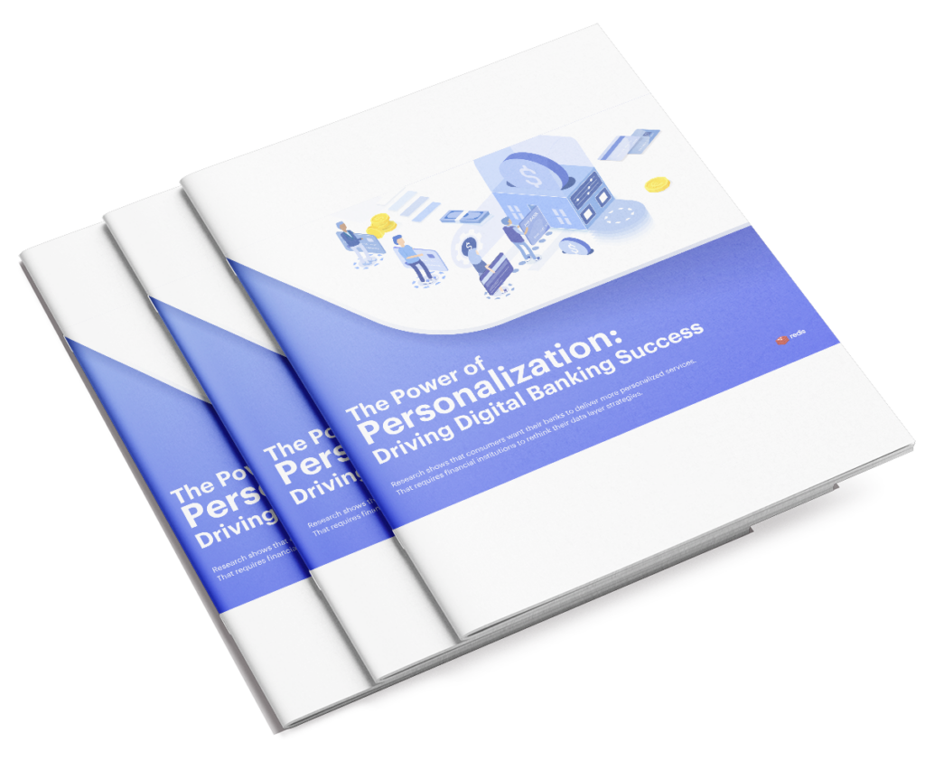 The Power of Personalization: Driving Digital Banking Success white paper cover