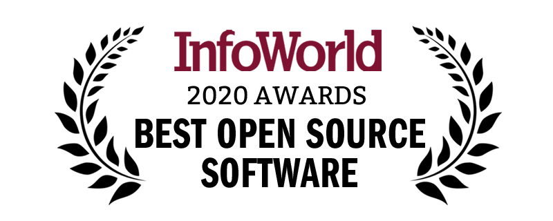 Award for best open source software from InfoWorld