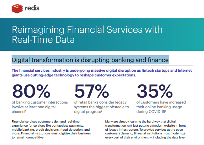Reimagining finserv with real-time data banner