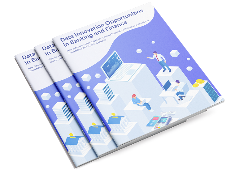 Data Innovation Opportunities in Banking and Finance white paper cover