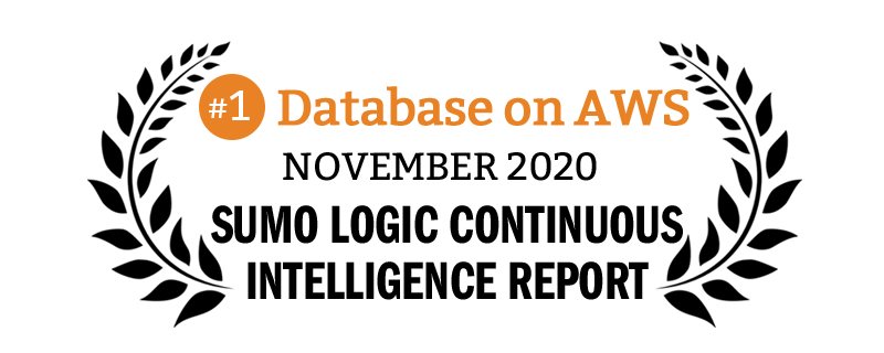 Redis is the #1 database on AWS based on Sumo Logic's 2020 report
