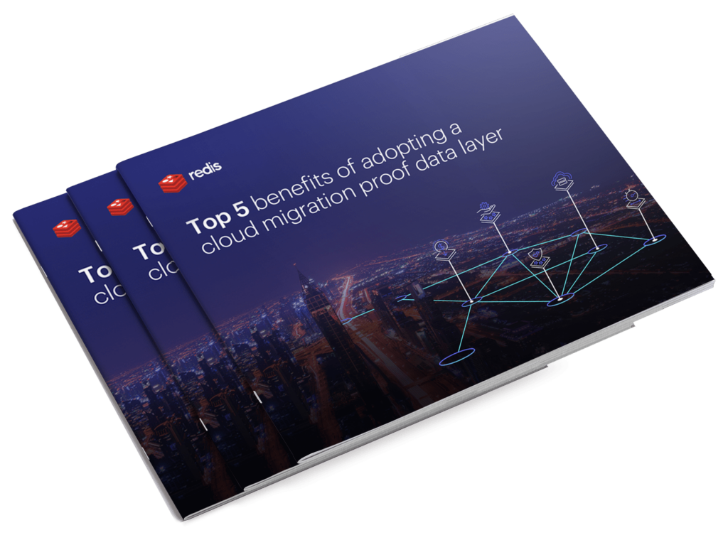 Top 5 benefits of adopting a cloud migration proof data layer e-book