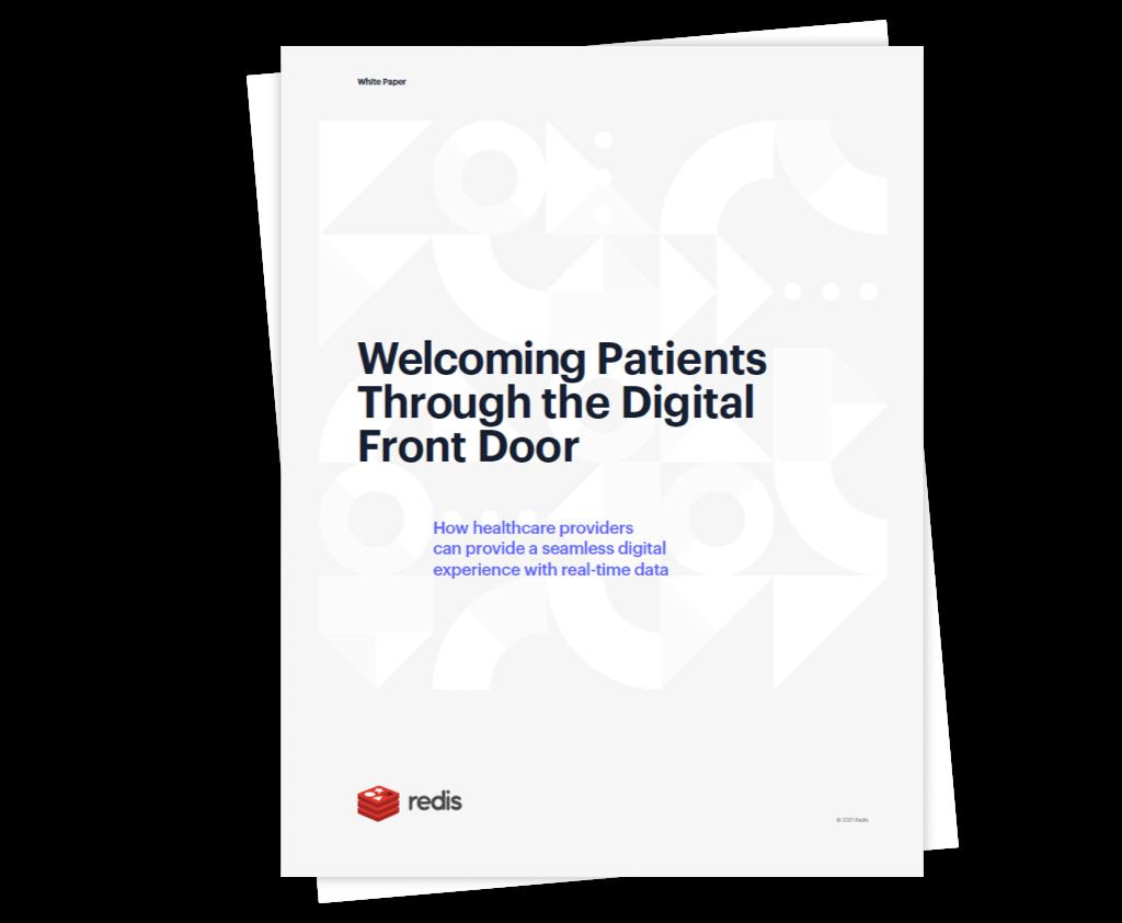Welcoming Patients through the digital door